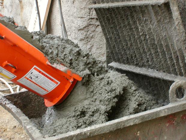 тощий бетон швы